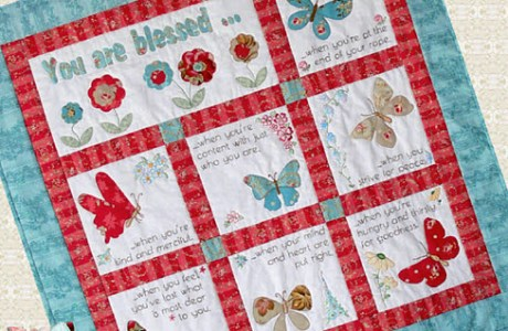 Free BOM: You are Blessed quilt