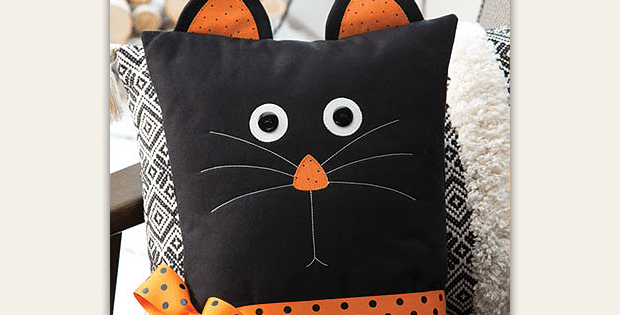 Treat Yourself Or A Friend To This Cute Pillow Quilting