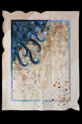 Quilt Now Wind, Earth, Fire & Water - Quilting Gallery