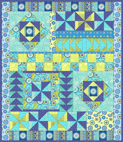 Gypsy Breeze Quilt