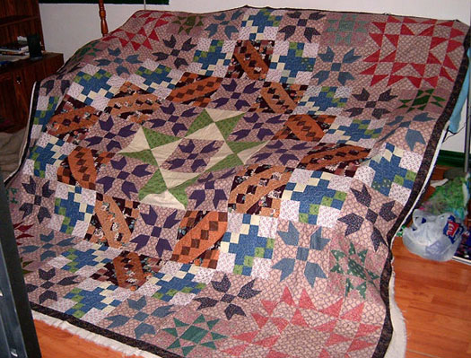 King-Sized Quilt
