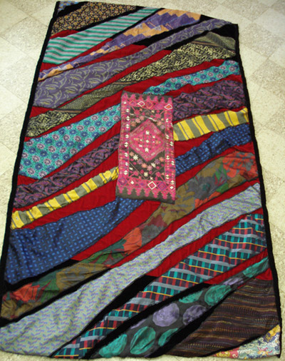 Quilting Patterns Using Men S Ties : Necktie Quilt - Quilting Gallery /Quilting Gallery