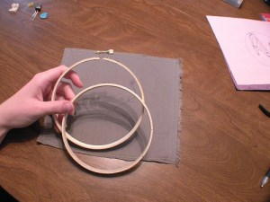 how to embroider hoop