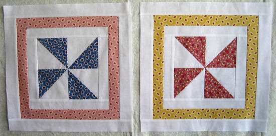 Pinwheel Sampler Quilt block7