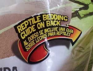 reptile bedding