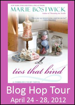 Marie Bostwick Blog Hop Tour