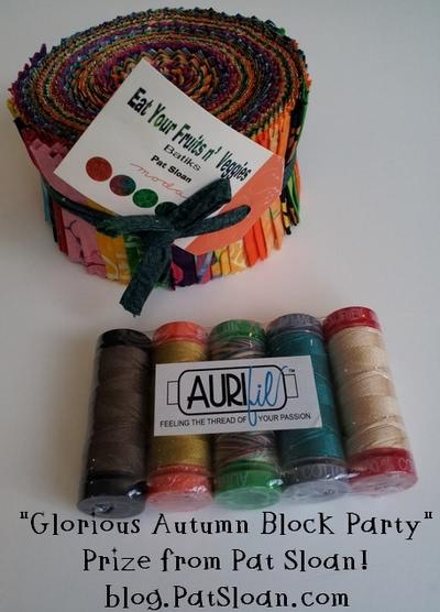 Pat Sloan Glorious Autumn Block Party Prize
