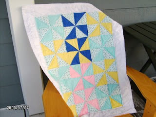 Sarah Vanderburgh_first quilt photo