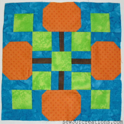 pumpkin patch block by sarah vanderburgh