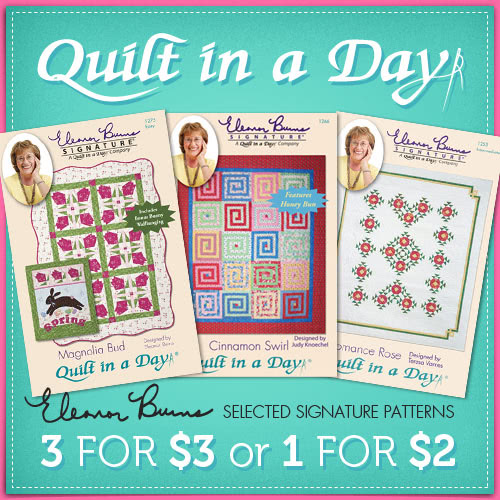 Quilt in a Day pattern booklets