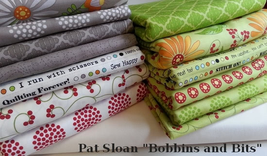 Pat Sloan fabric for sew along v1