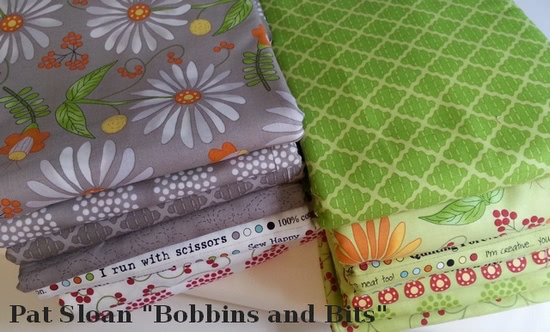 Pat Sloan fabric for sew along v2