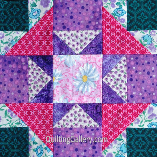 summer-nights Quilt Block