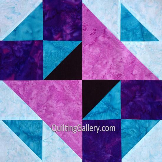 old-maids-puzzle- Quilt Block