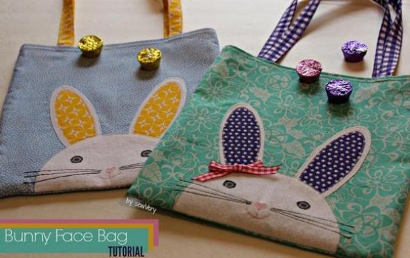Bunny Face Bag