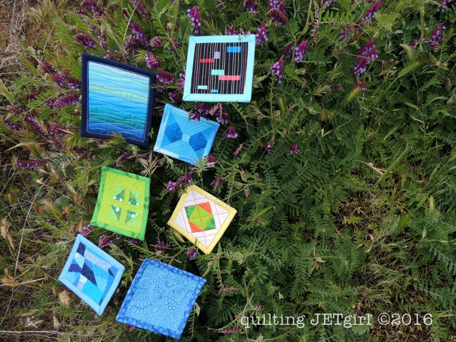 Patreon Reward: Mini Mini Quilts