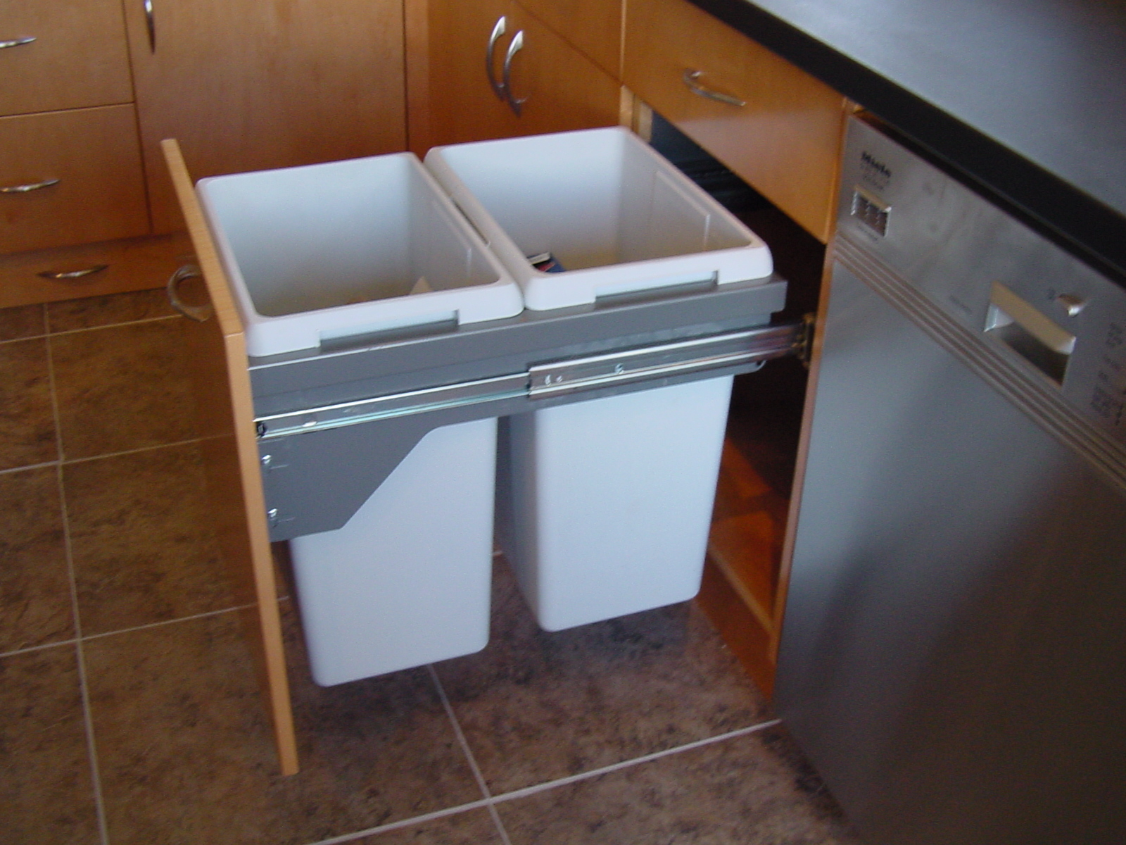 Kitchen Cabinet Trash Bin Kitchen Cabinets Great Storage Solutions For You