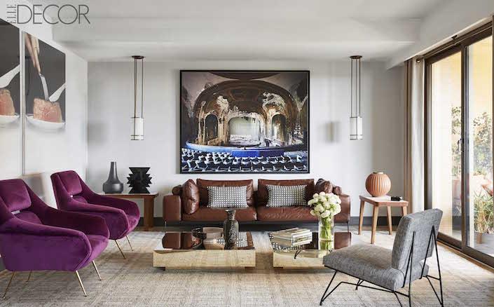 Sneak Peek - ELLE DECOR Global Style Issue - Quintessence - elle decor living rooms