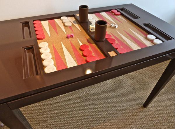 Backgammon Coffee Table Backgammon Game Table Low Profile