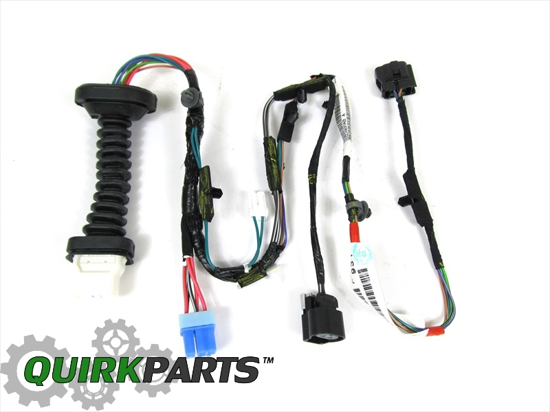 DODGE RAM 1500 2500 REAR DOOR WIRING HARNESS RIGHT OR LEFT SIDE OEM