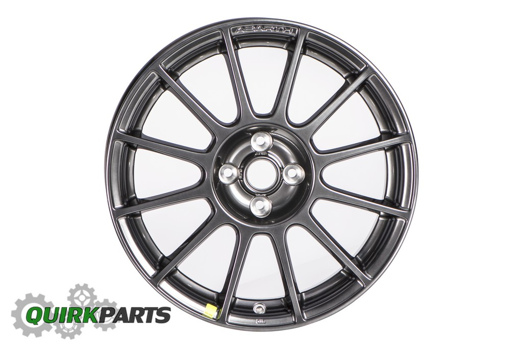 fiat 500 abarth spare tire location