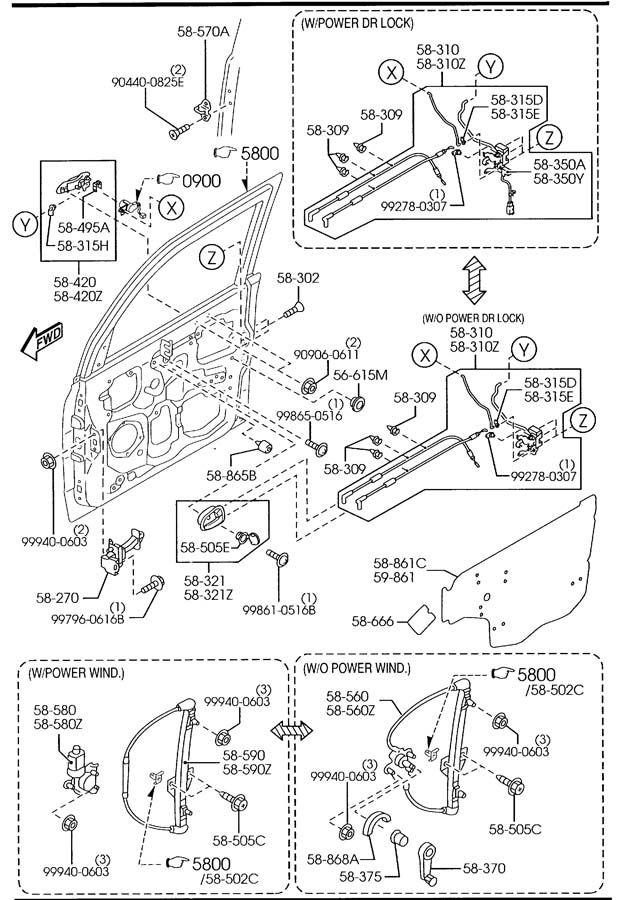 2005 mazda mpv motor diagram