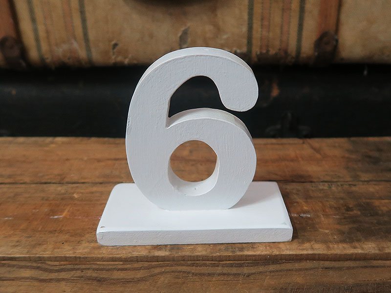 Quirky Parties - Table numbers