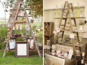 Wooden ladders – Inspiration