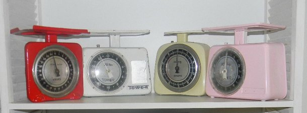 Vintage scales for hire - Quirky Parties