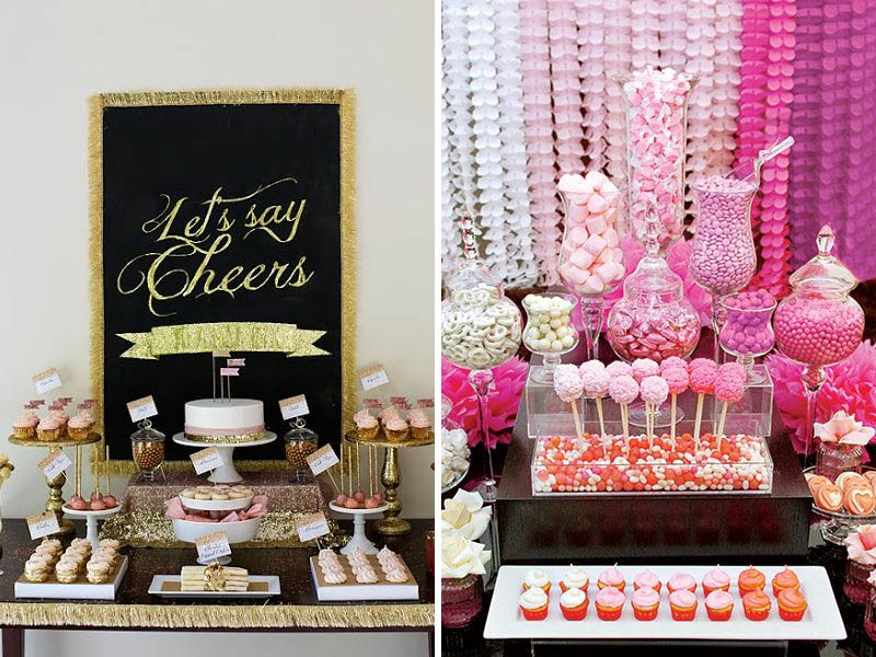 Quirkyparties - Art of Candy Buffet | Levels