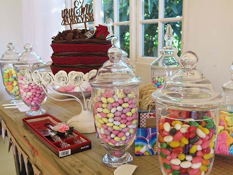 Candy jars - Quirky Parties