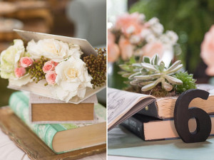 Vintage Wedding Book Decor Ideas – The Perfect Love Story