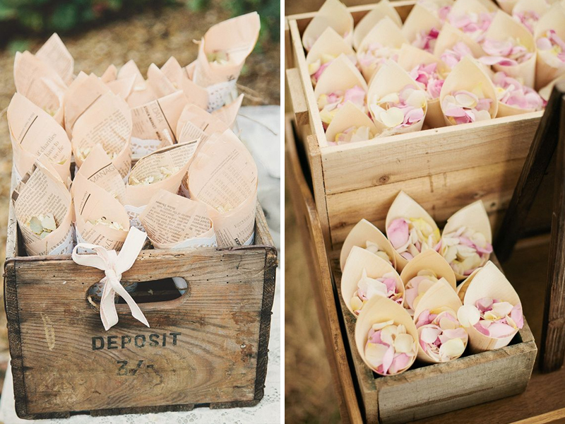 Quirky Parties Rustic Crate Confetti