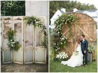 Vintage Doors as Wedding Decor