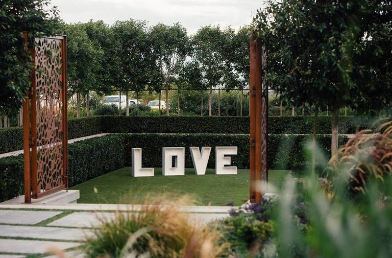 Large Love sign - quirky Parties