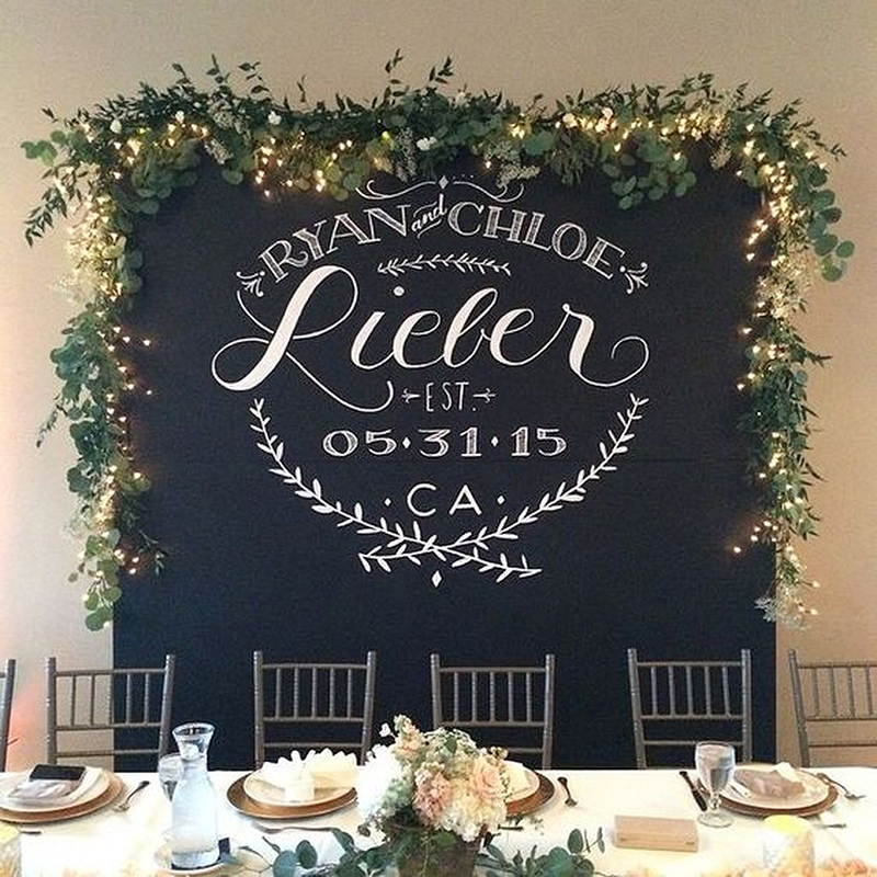 Wedding Backdrops Arches - Blackboards