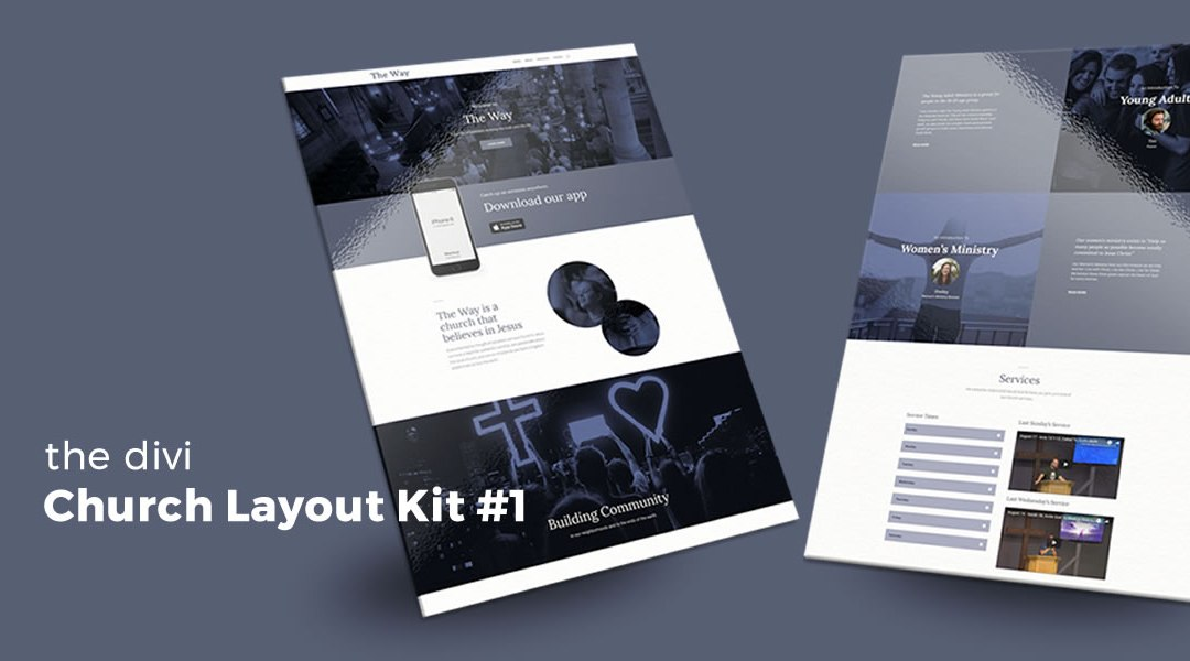 Church Layout Kit #1 for Divi