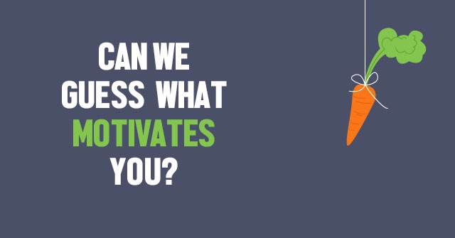 Can We Guess What Motivates You? QuizLady - what motivates you