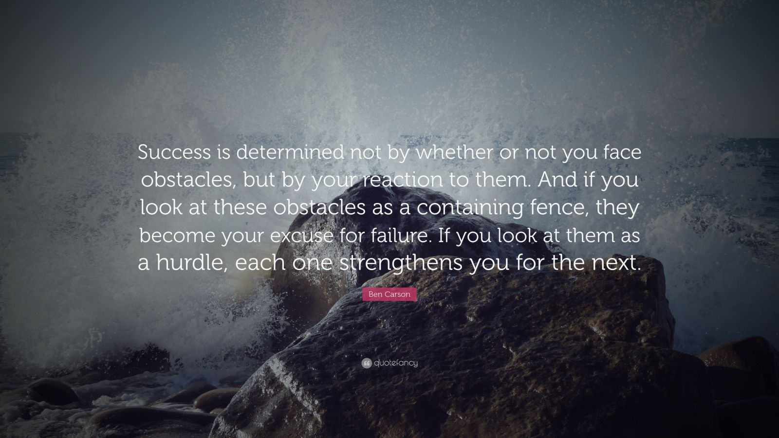 Theodore Roosevelt Wallpaper Quote Ben Carson Quote Success Is Determined Not By Whether Or