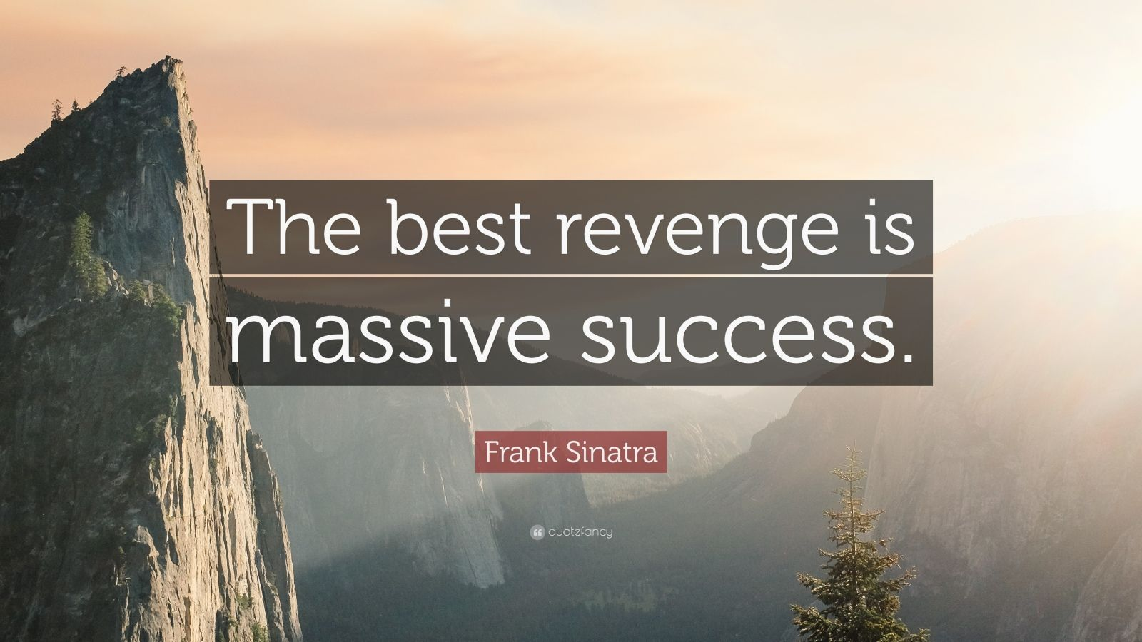 Theodore Roosevelt Wallpaper Quote Frank Sinatra Quote The Best Revenge Is Massive Success