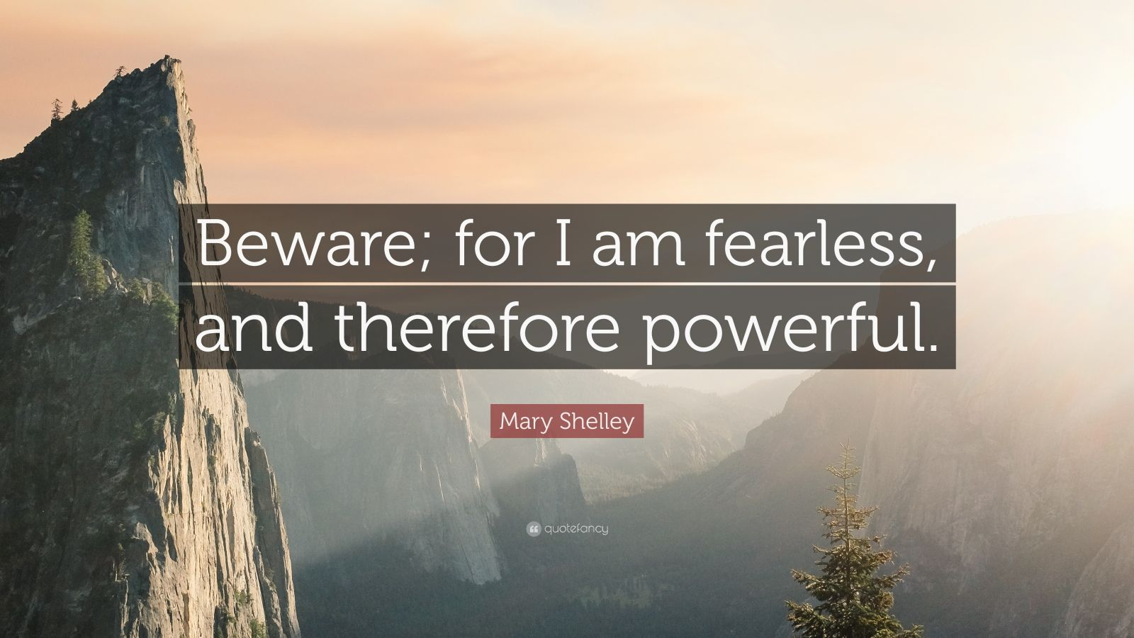 Wallpapers Philosophy Quotes Mary Shelley Quote Beware For I Am Fearless And