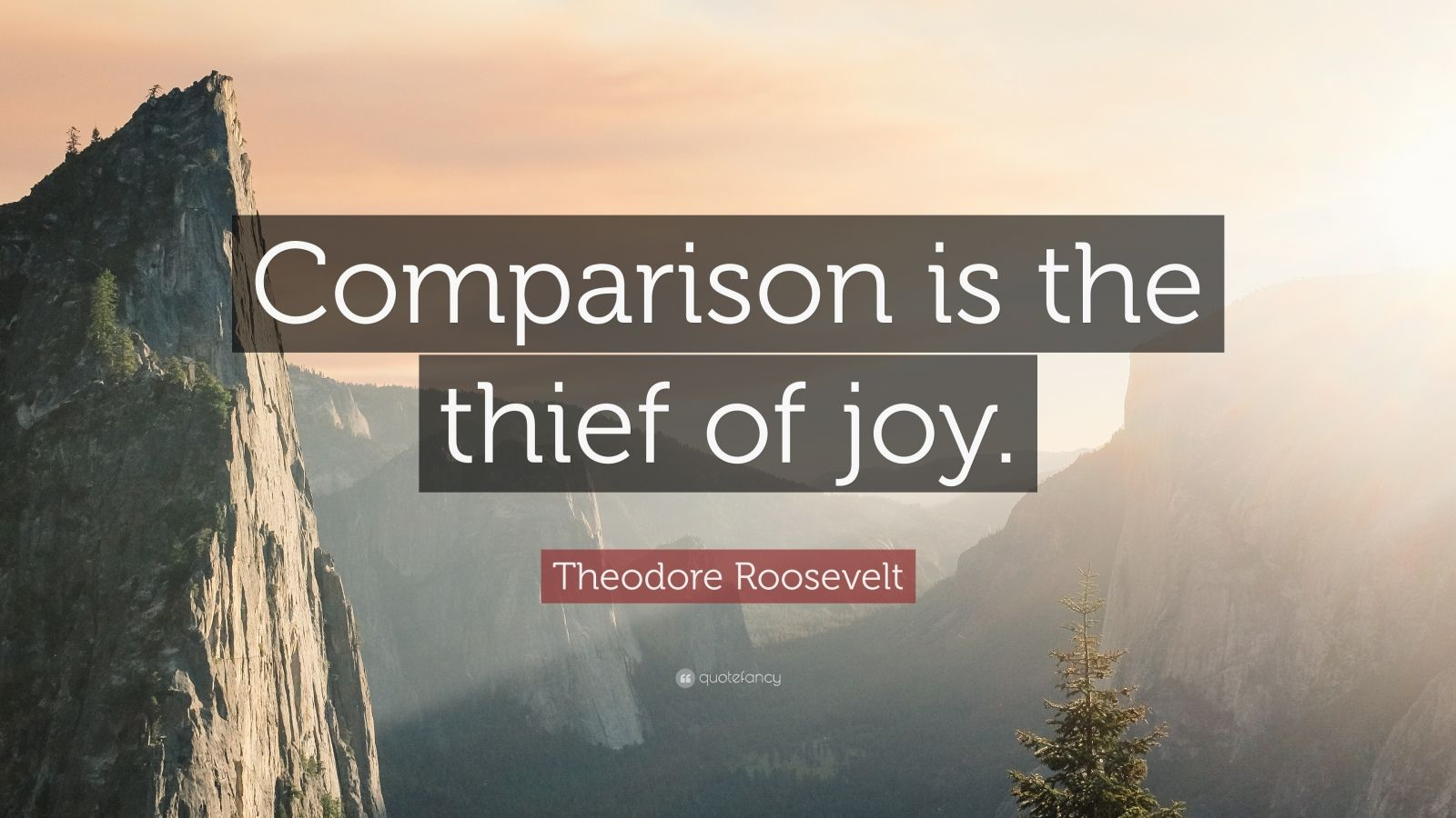Road Quote Wallpaper Theodore Roosevelt Quote Comparison Is The Thief Of Joy
