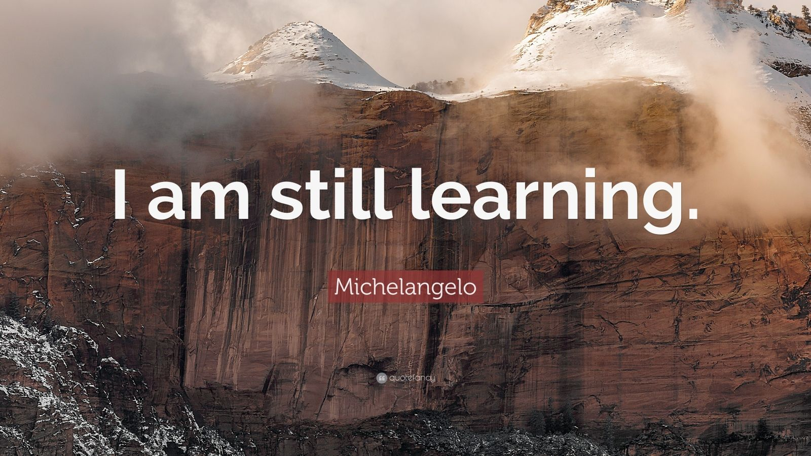 Love Inspiring Quotes Wallpaper Michelangelo Quote I Am Still Learning 17 Wallpapers