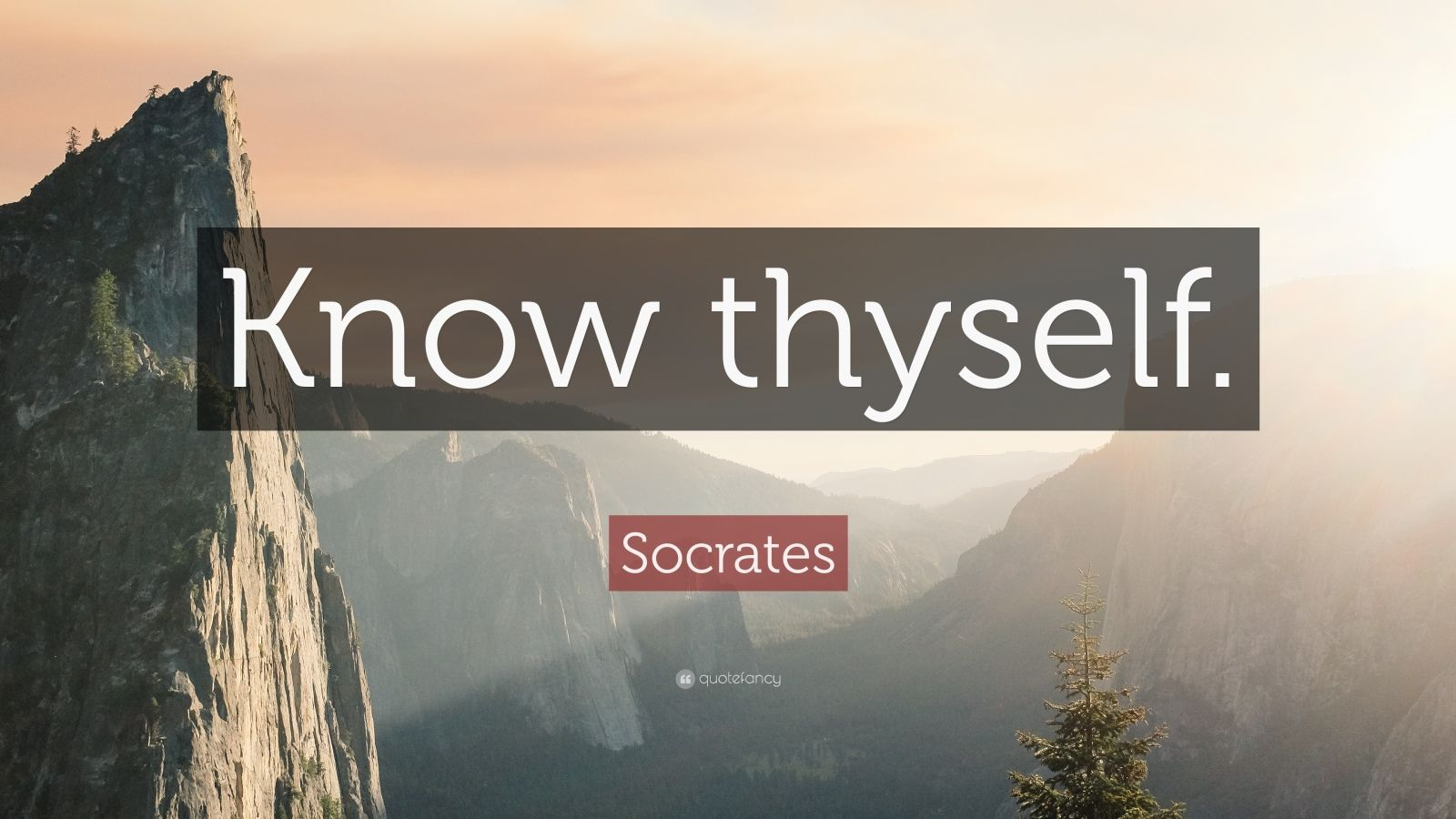 Love Inspiring Quotes Wallpaper Socrates Quote Know Thyself 32 Wallpapers Quotefancy