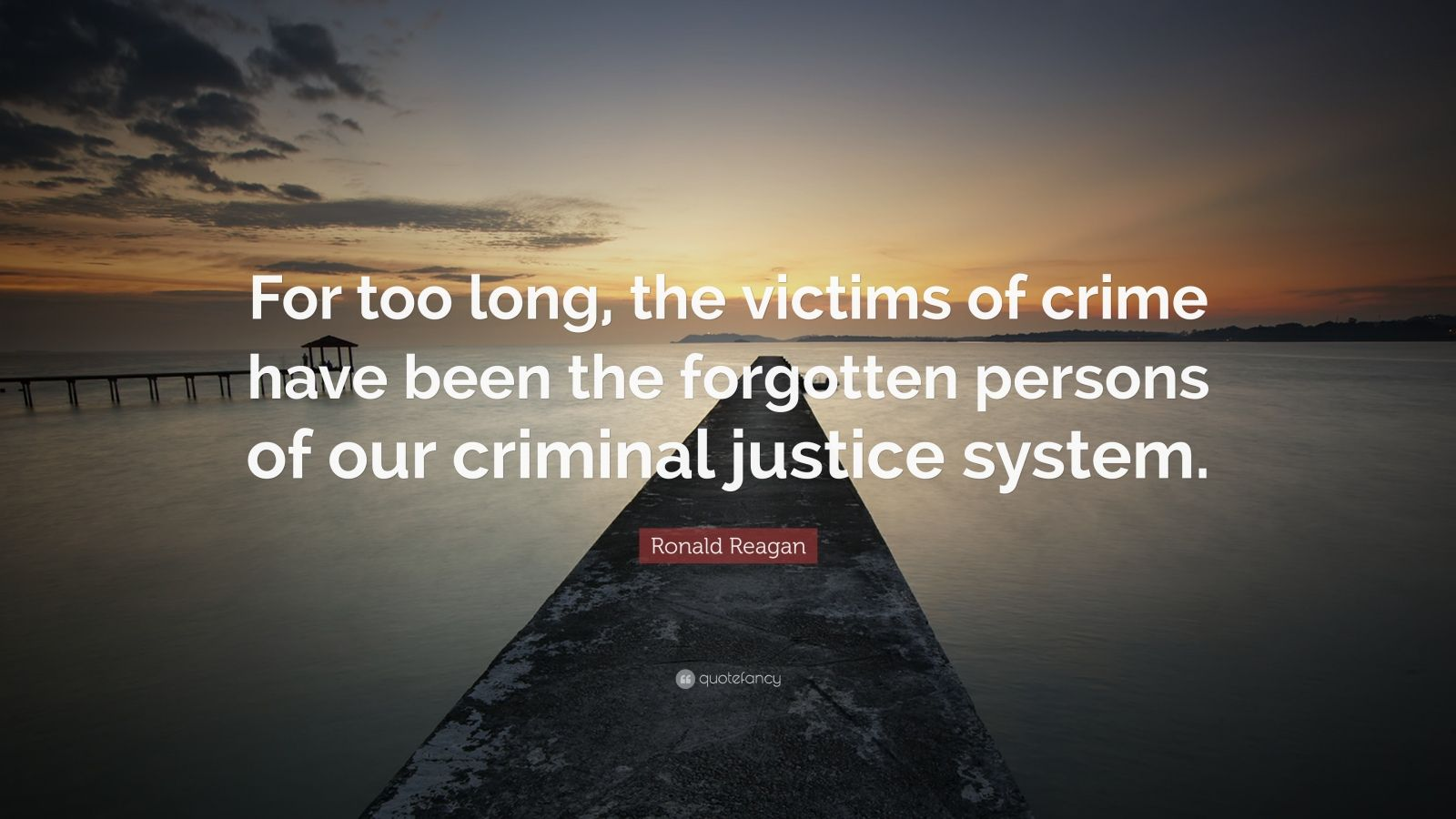 Obama Wallpaper Quote Ronald Reagan Quote For Too Long The Victims Of Crime