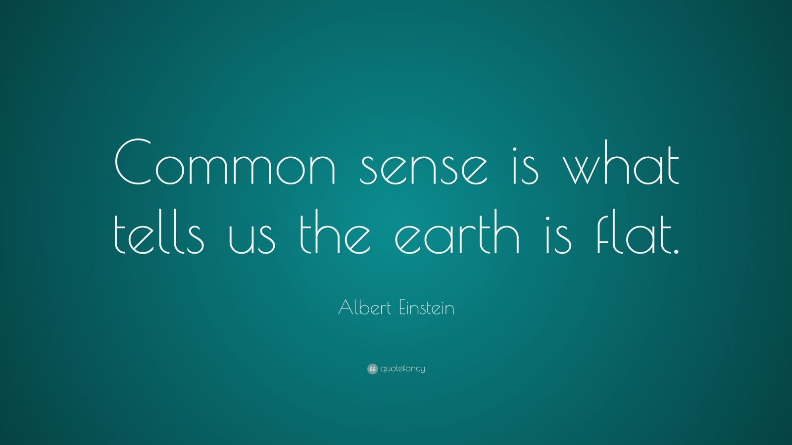 Persistence Quotes Wallpapers Albert Einstein Quote Common Sense Is What Tells Us The