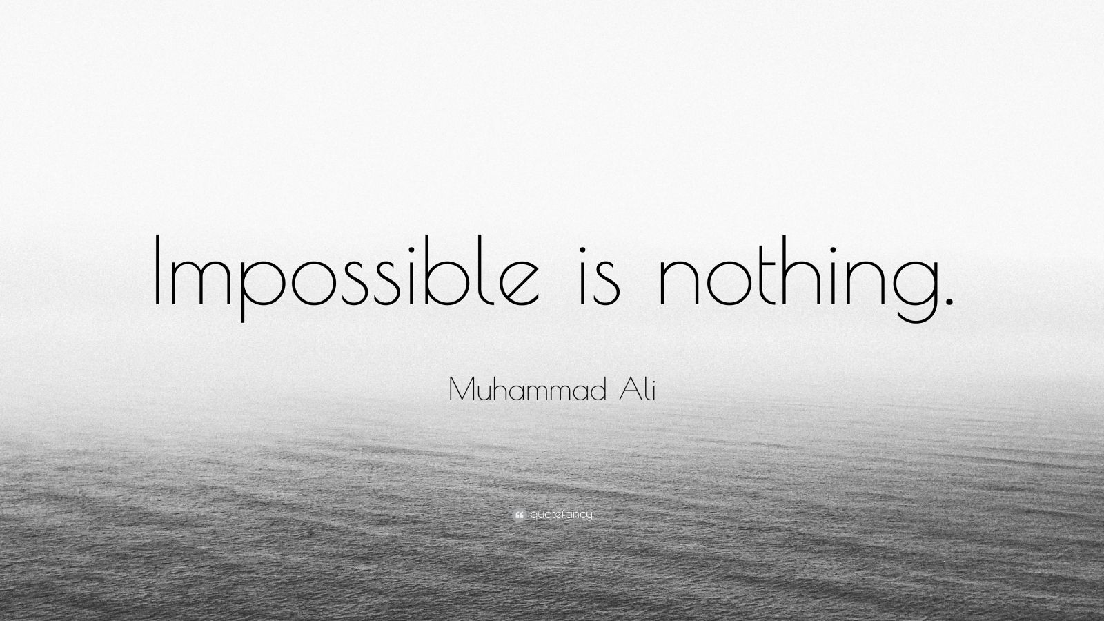 Impossible Quote Wallpaper Muhammad Ali Quote Impossible Is Nothing 26