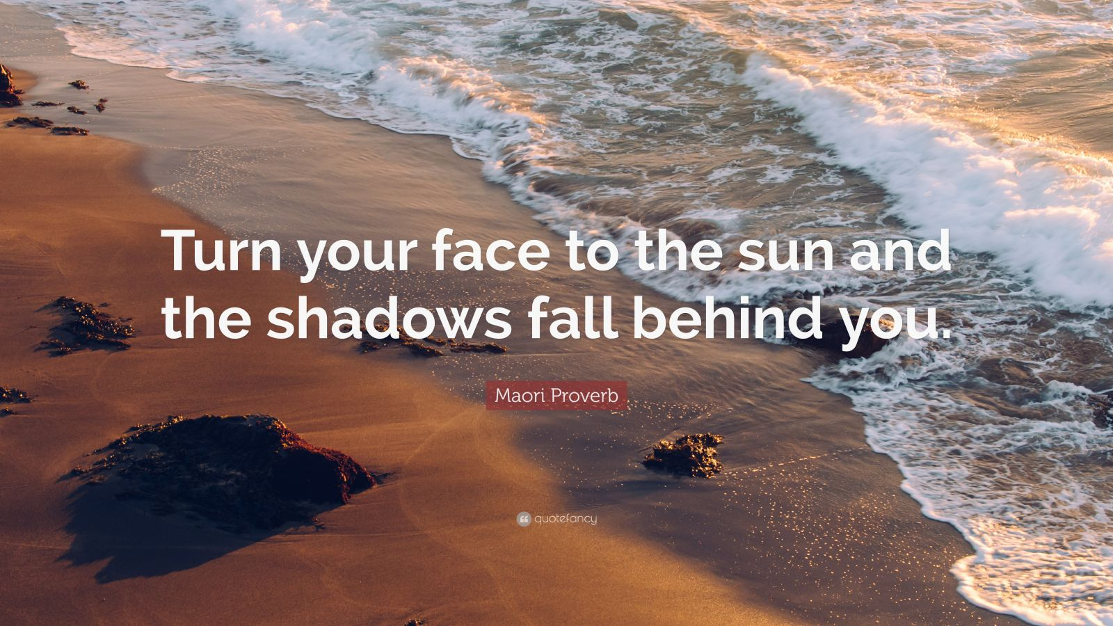 Wallpaper Hello Fall Maori Proverb Quote Turn Your Face To The Sun And The