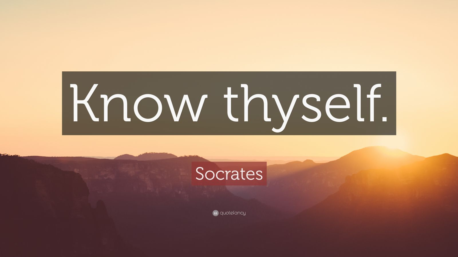 Dalai Lama Quotes Wallpapers Socrates Quote Know Thyself 32 Wallpapers Quotefancy