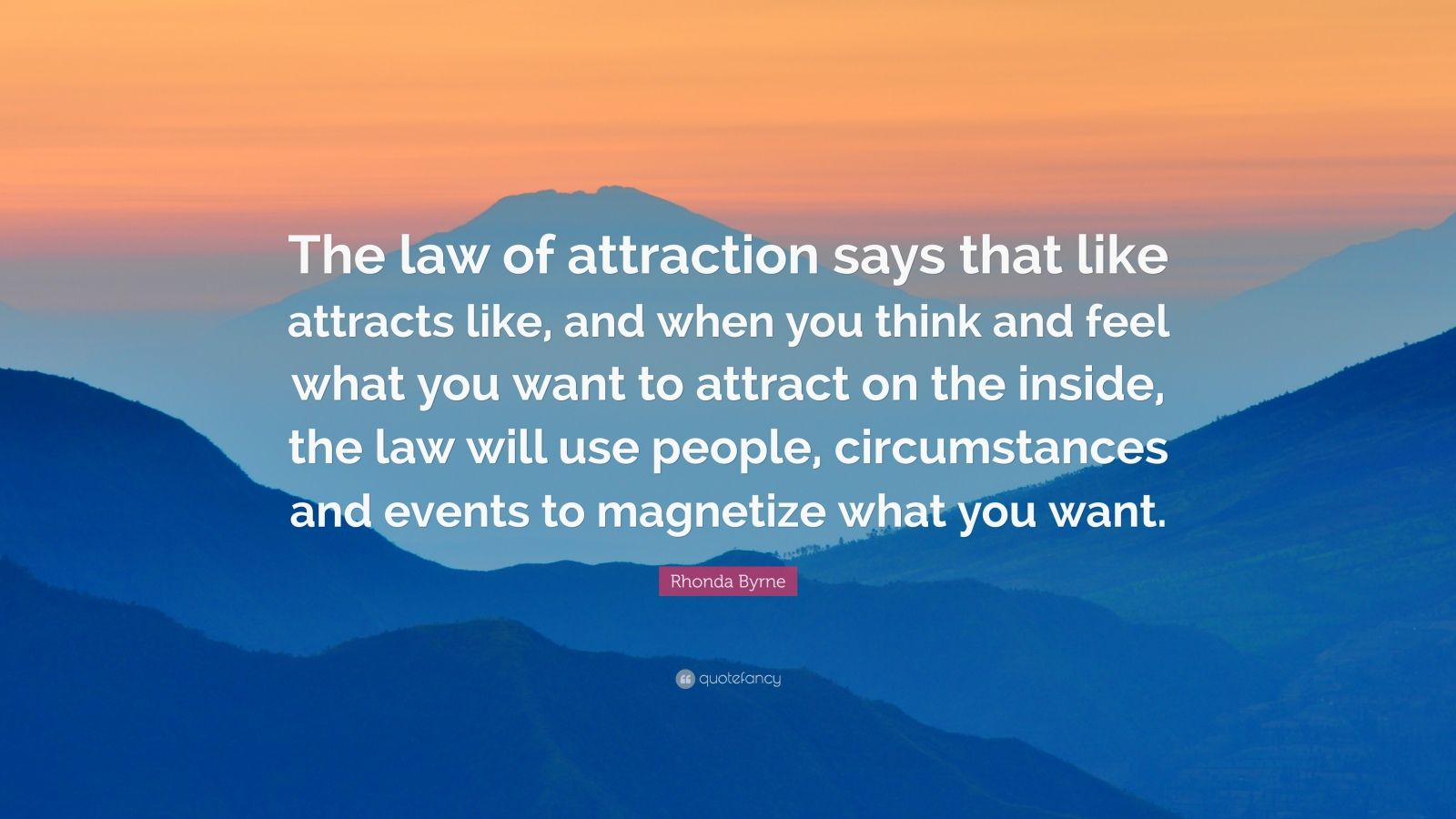 Conor Mcgregor Quote Wallpaper Rhonda Byrne Quote The Law Of Attraction Says That Like